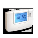 Távolról elérhető termosztát