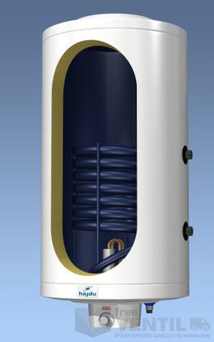 Hajdu IDE75F 75 literes függesztett indirekt tároló villamos pótfűtéssel