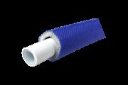 Silver  ötrétegű aluminium betétes cső 20x2 szigetelt kék