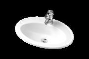 Alföldi beépíthető mosdókagyló Bázis 4171 54