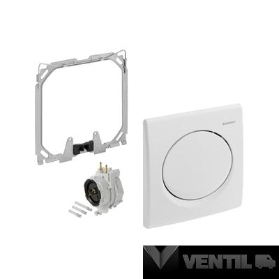 Geberit Basic pneumatikus vizelde nyomólap + vezérlés alpin fehér