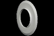 Viessmann fali takaró idom, fehér színben D=100mm