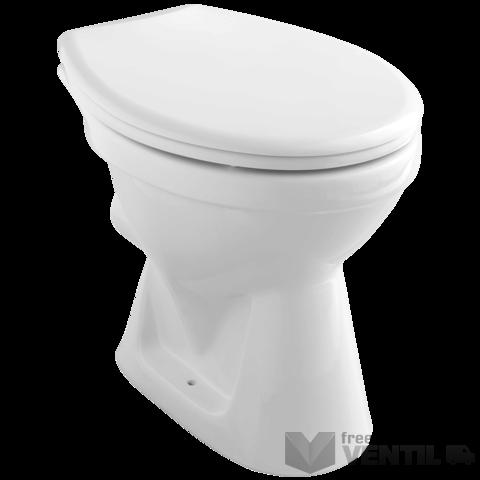 Alföldi Bázis 4031 fehér színű, hátsó kifolyású, mély öblítésű, padlóra szerelhető WC csésze