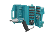 Makita akkumulátoros csavar behajtó és bit készlet