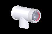 Tricox PAET50C pps/alu 60/100 ellenörző T-idom