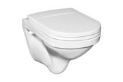 Alföldi Miron 5693 59 fehér színű, hátsó kifolyású, mély öblítésű, falra szerelhető WC csésze
