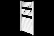 Sanica 600X800 egyenes törölközőszárító radiátor fehér