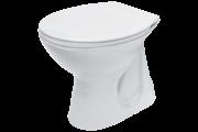 Cersanit President P20 alsó kifolyású, lapos öblítésű WC csésze