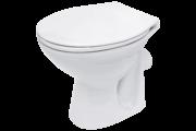 Cersanit President P10 hátsó kifolyású, lapos öblítésű WC csésze