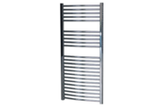 Sanica 400X1600 mm egyenes törölközőszárító radiátor króm