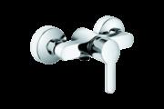 KLUDI Logo-Neo egykaros fali zuhany csaptelep króm (Kifutó!)