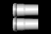 Viessmann cső 1,95m 80mm pps (2db)